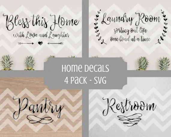 Download Bless this home sign svg Laundry svg Pantry svg pantry