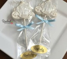12 CINDERELLA COACH Chocolate Wedding Favors