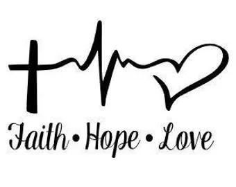 Download Faith Hope Love print