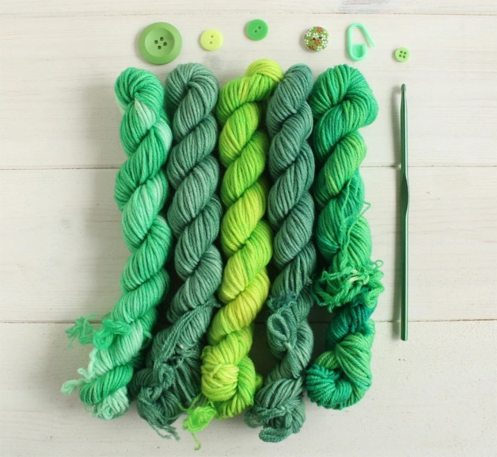 Hand dyed gradient set - ...
