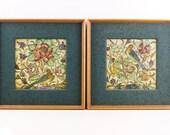 Antique framed tiles Taor...