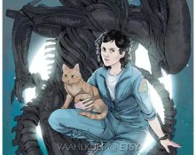 Alien 5x7 Print - Ripley and Jones