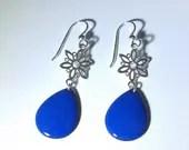 Blue Snowflake Earrings, ...