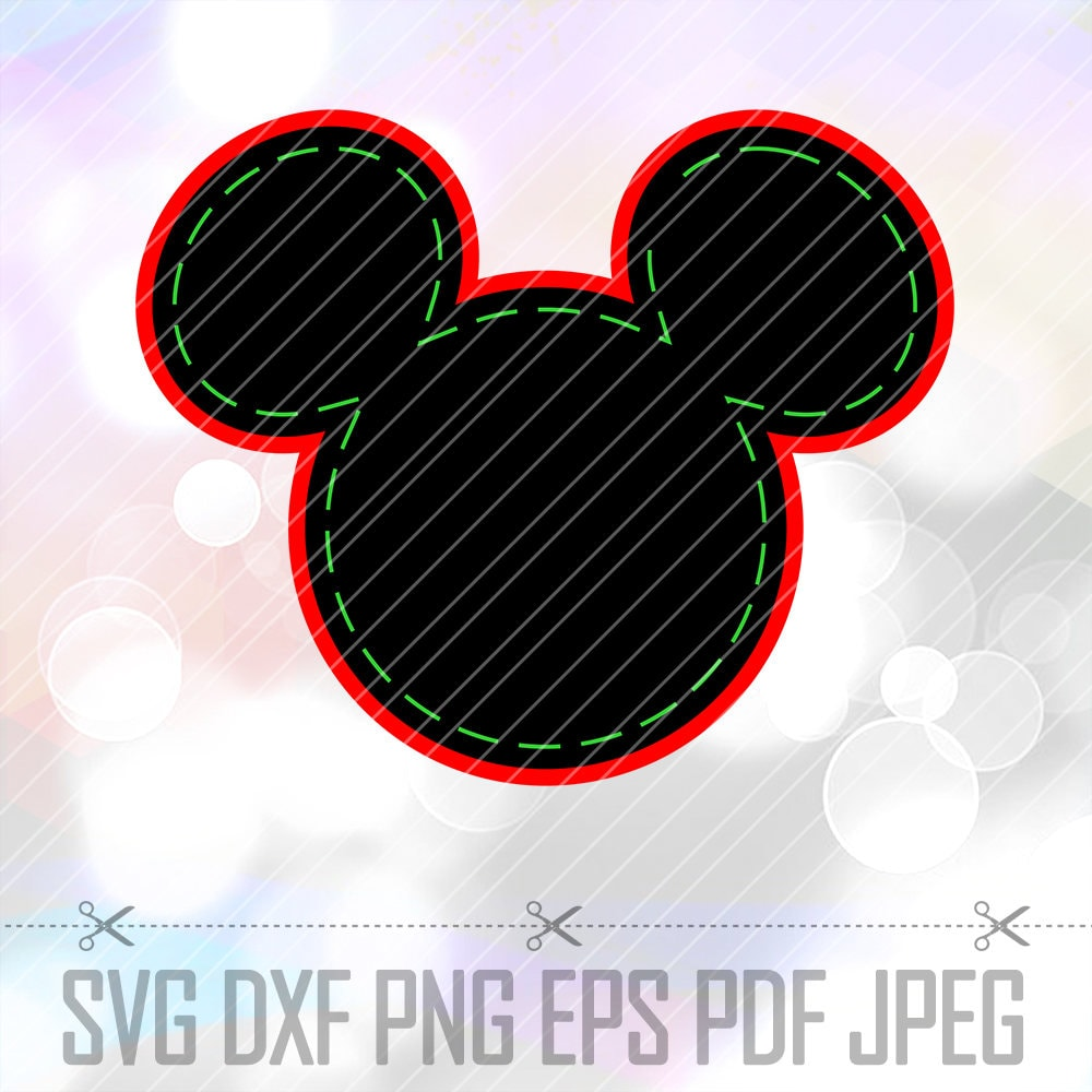 Download Mickey Mouse SVG DXF Vector LAYERED Cut File Cricut Download