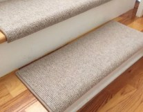 Bristol Linen New Zealand Wool!-TRUE Bullnose™ Carpet Stair Tread Runner Replacement for Style, Comfort and Safety (Sold Each)