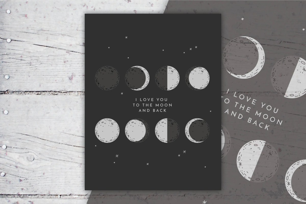 Love You To The Moon And ...