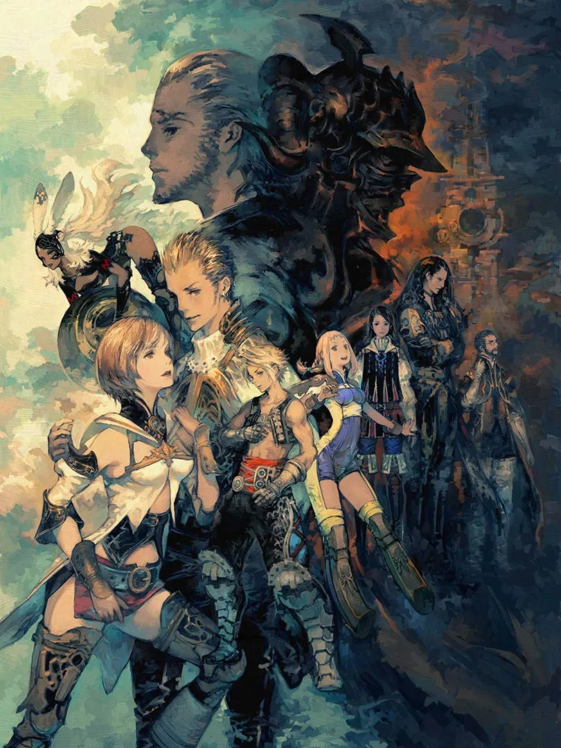 Final Fantasy XII Cast Poster