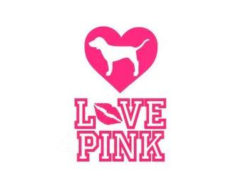 Download Love pink svg   Etsy