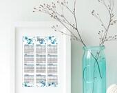 2018 Printable Wall Calen...