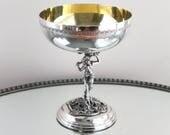 Vintage Faun goblets, wic...