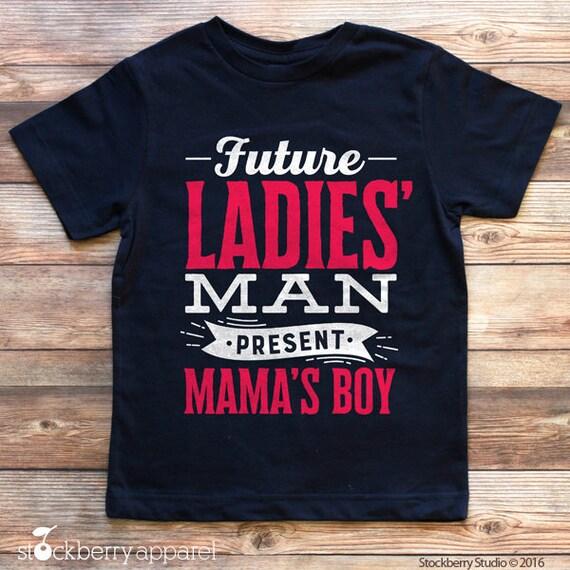 Future Ladies Man Shirt Boys Valentines Day Shirt