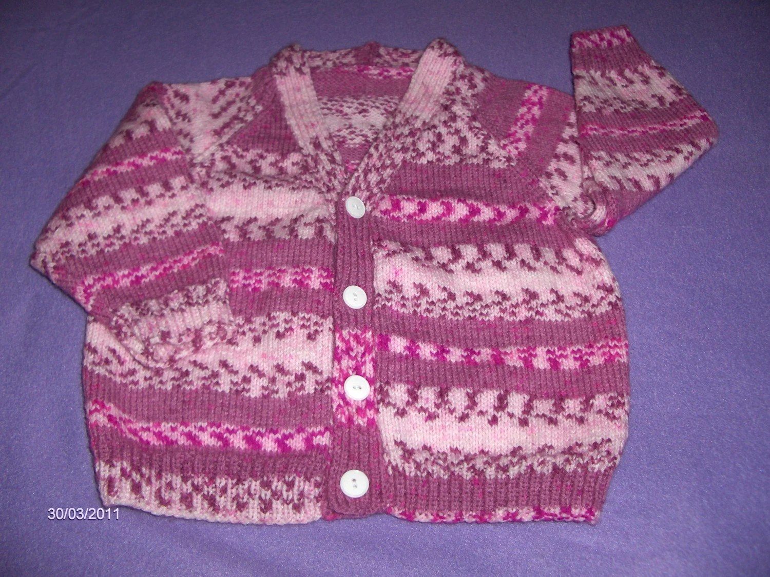 cardigan. size 30in chest