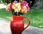 Ponytail tie party favor bouquet