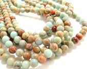 Impression Stone Gemstone Beads