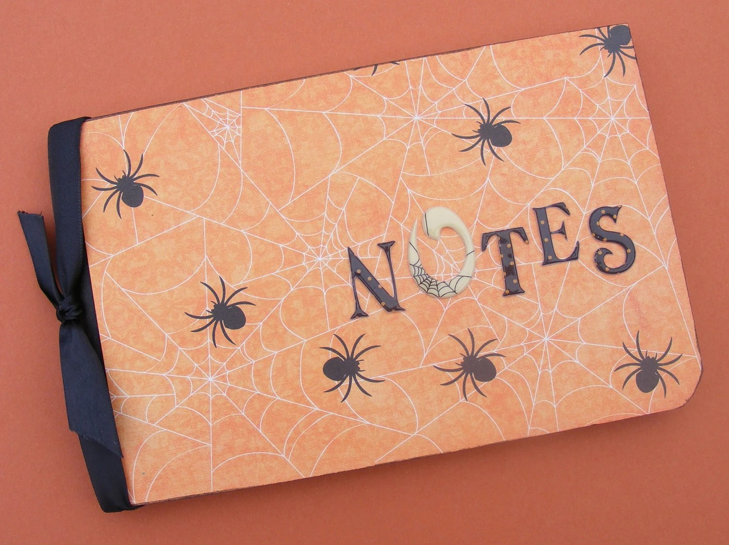 Creepy Spider Journal