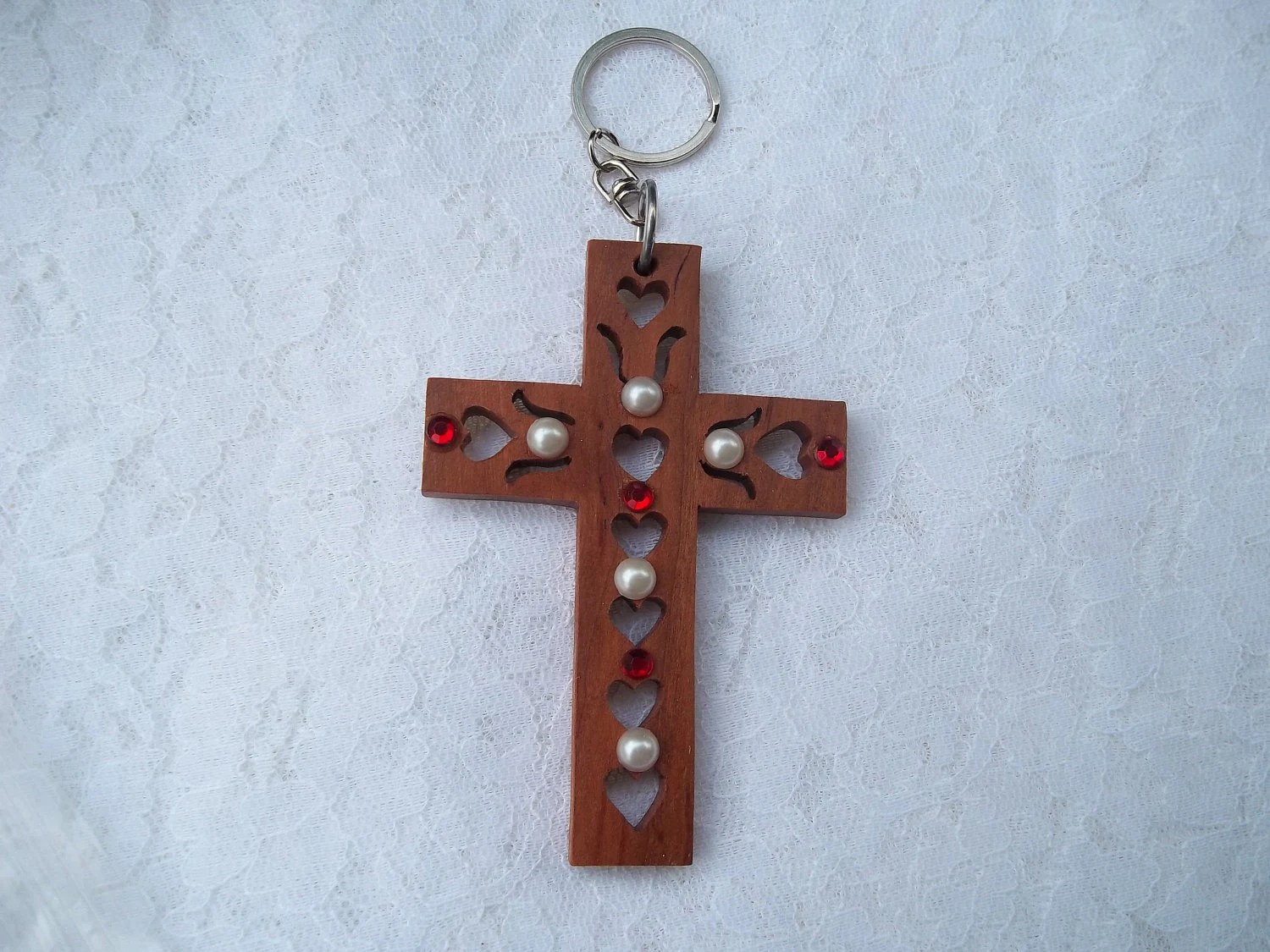 Jewels for Jesus key chain