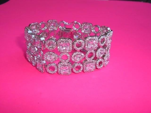 Wedding Bracelet, Crystal Wedding Bracelet, Bridal Crystal Bracelet