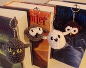 Harry Potter Owls Keychains, Amigurumi Owls