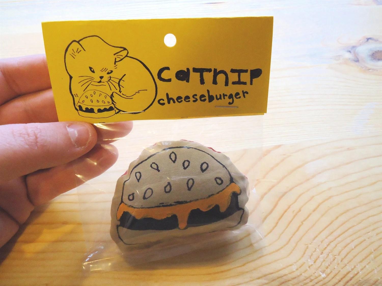 Catnip Cheeseburgers- 3 PACK - toobadmice