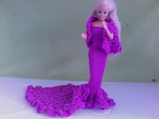 New Handmade  BARBIE DOLL CLOTHES  Evening wear designed and made by nannycheryl  759 x 56