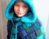 Northern Lights Shrug/Cape/Shawl/Scarf/Hood