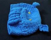 Cute Cthulu Toque O.O /  Handmade Winter Hat