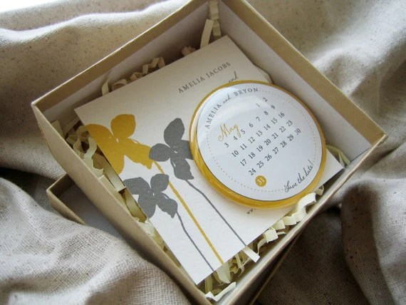 modern orchid button magnet save the date in box mailer (25)