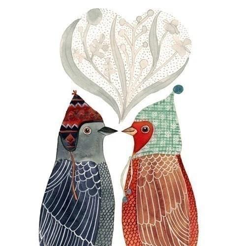 Lovebirds Print