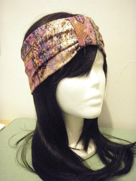 Turban headband-- Arabian Night Half Turban