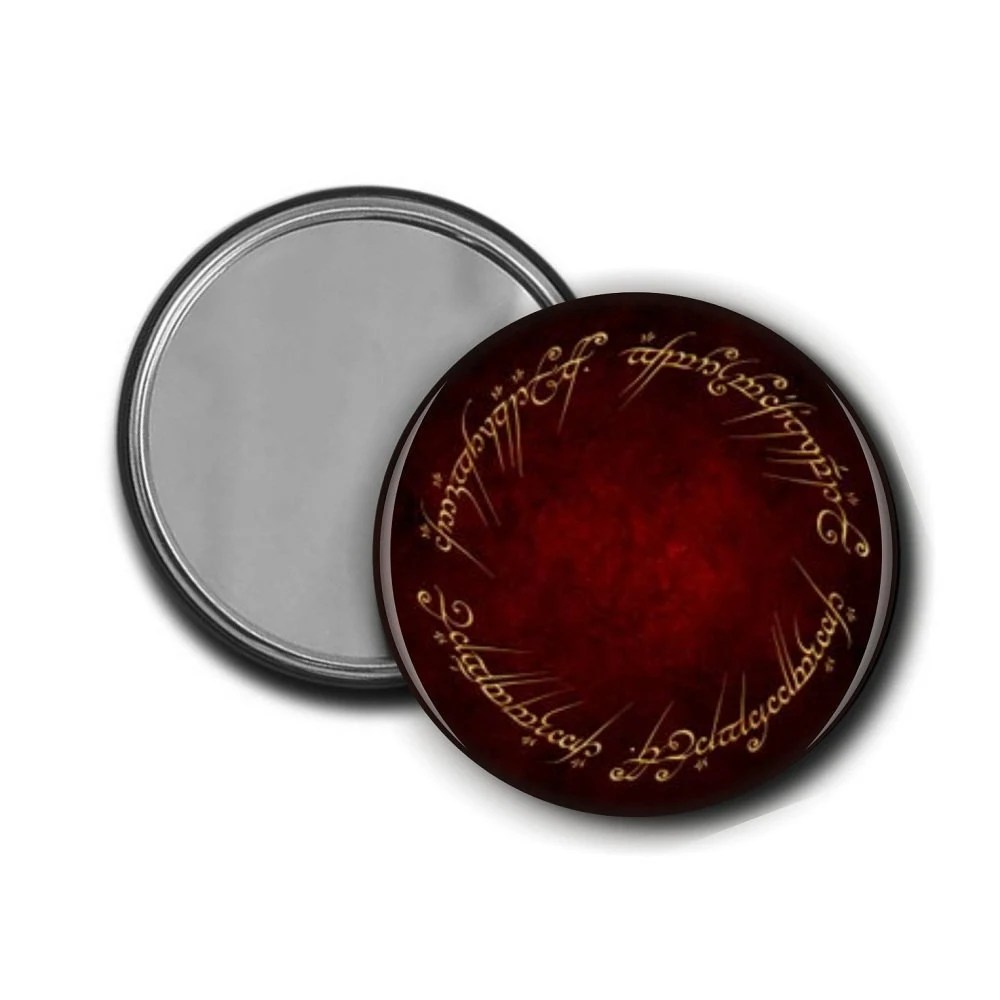 Lord of the Rings Elvish Pocket Mirror - 2.25""
