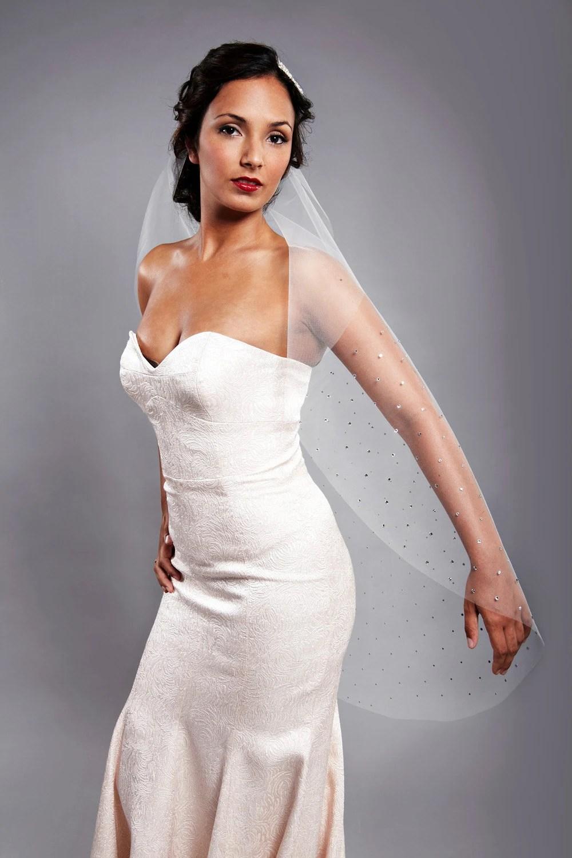 32 Inch Sparkle Sparkle Wedding Veil