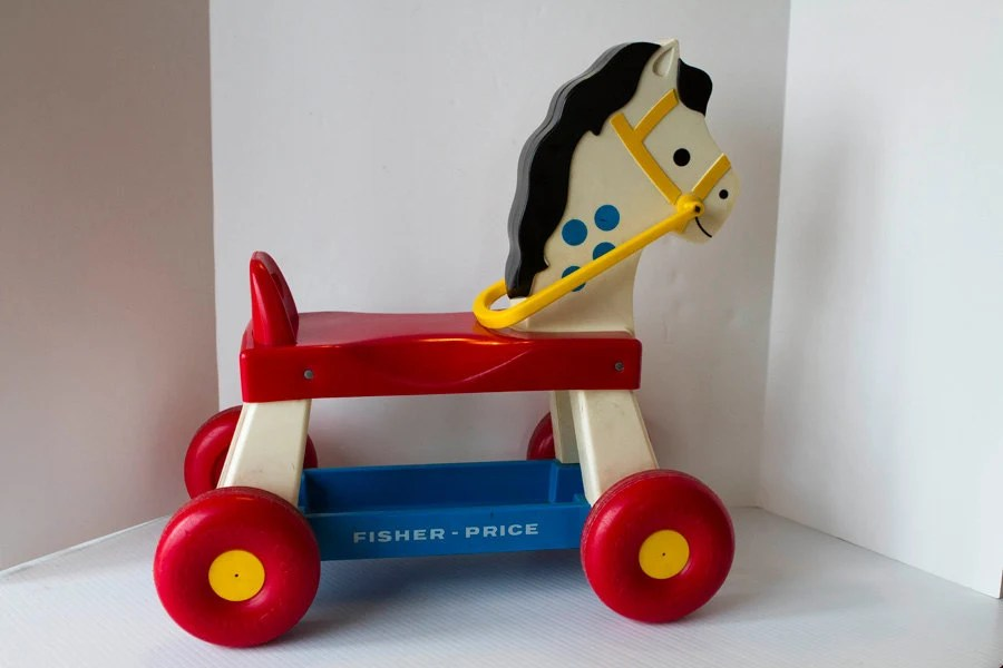 Vintage Fisher Price Riding Horse