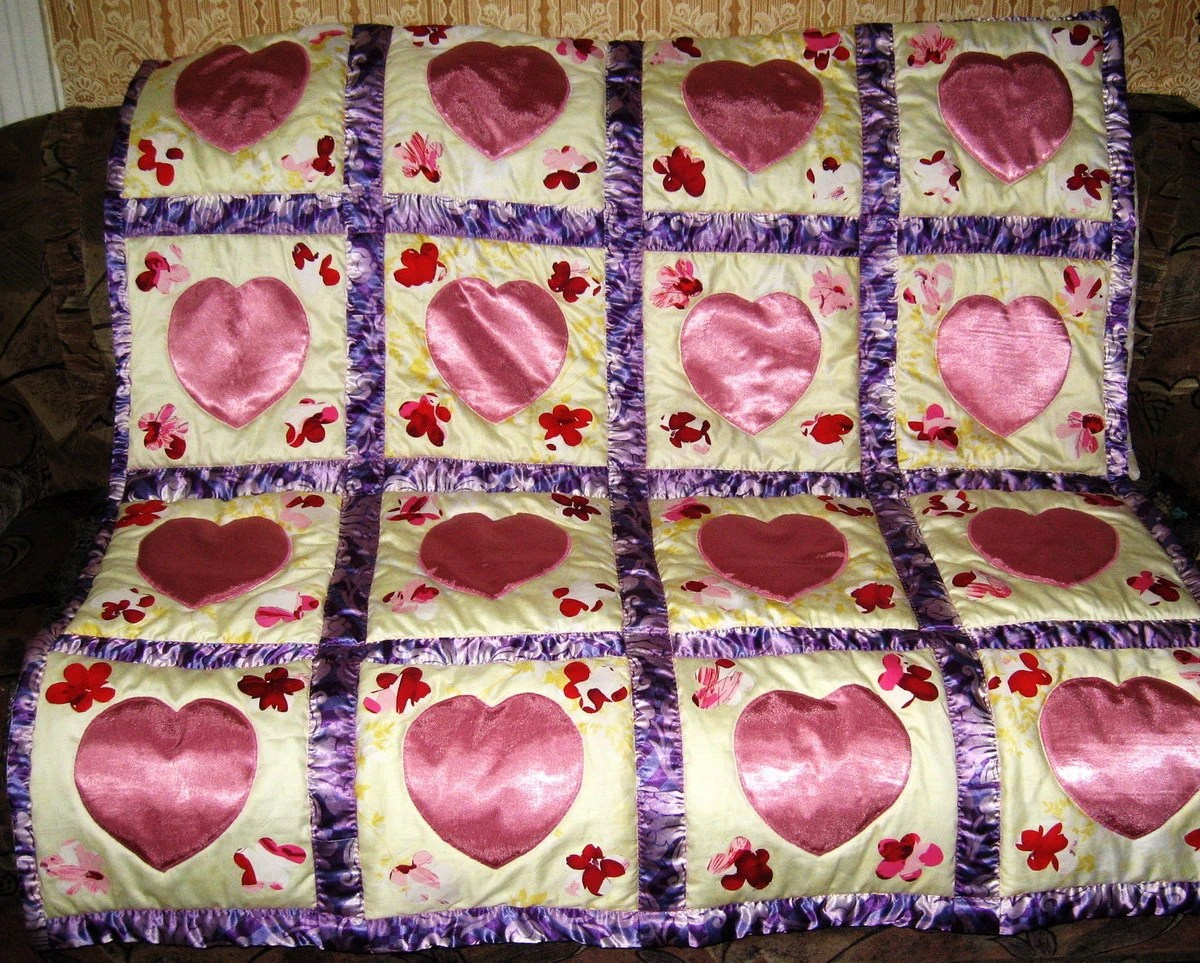 "Quilt ""For Sweethearts"""