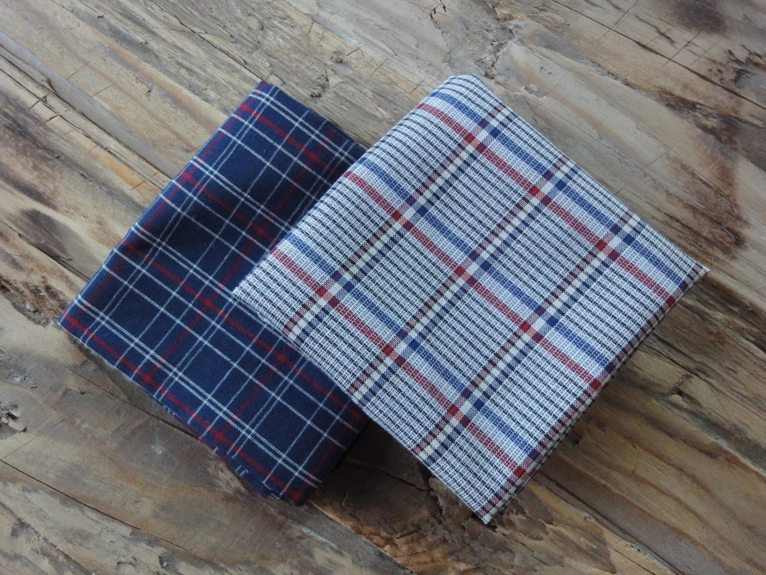 plaid handkerchiefs