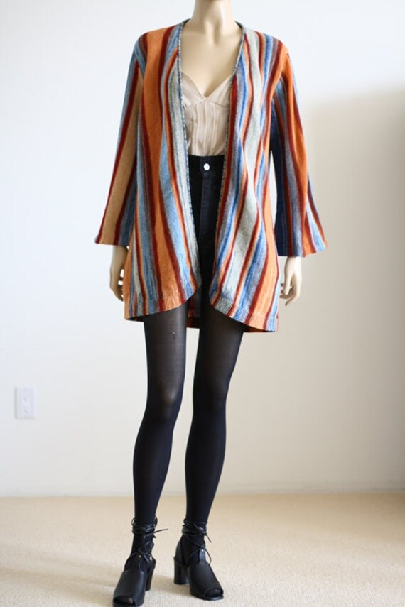70's Striped Hippie Sweater from wemovevintage on Etsy