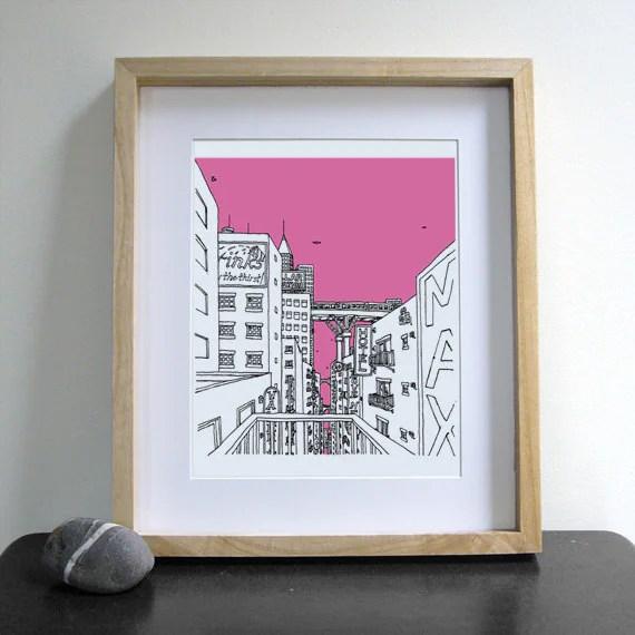 Hotel City - Print