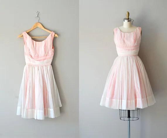 vintage 50s dress / 1950s dress / The Yum Yum Girl