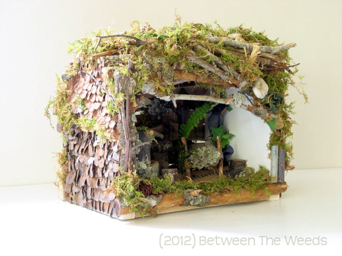 Fairy House Cottage Custom Made with Faerie Furniture