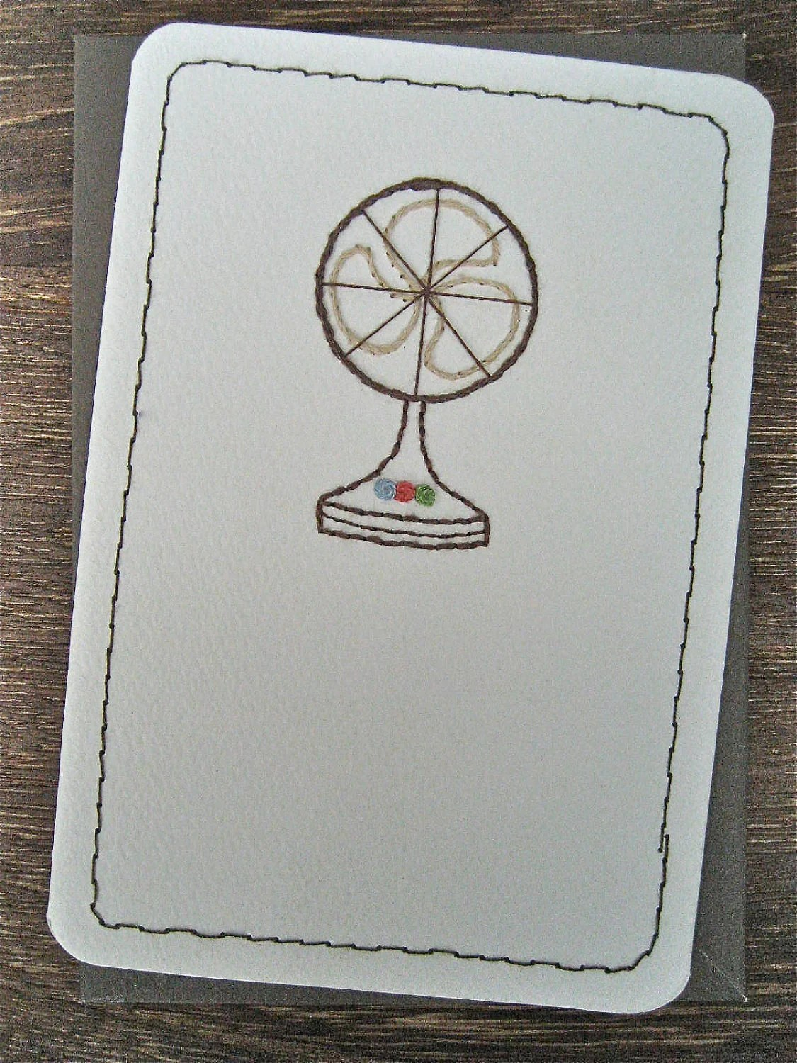Electric Fan card - Leobella Boutique