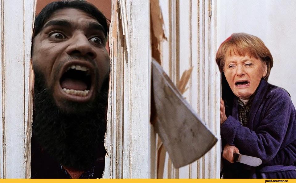 Image result for меркель беженцы