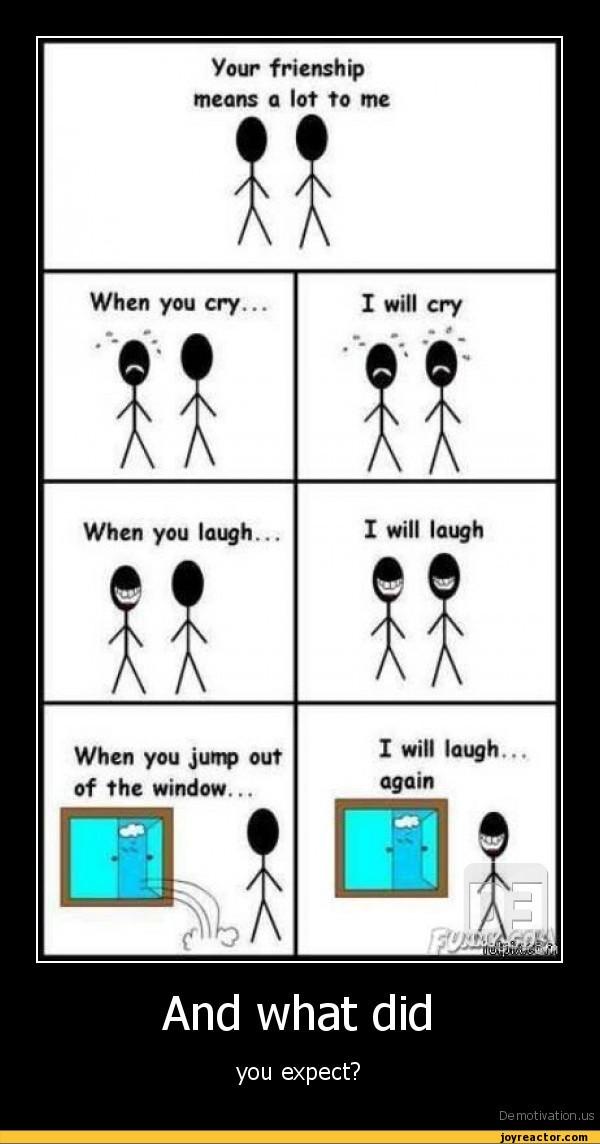 I Laugh You Laugh I Cry You Cry