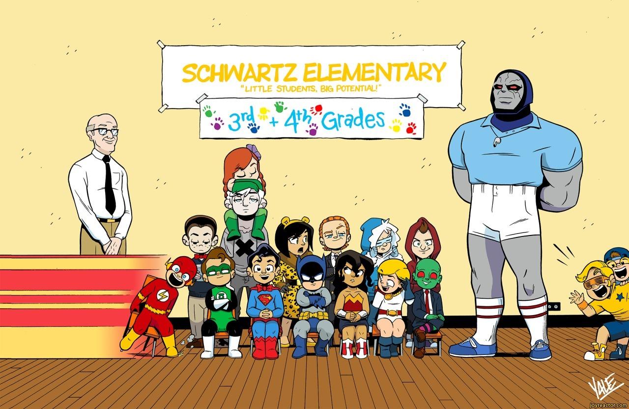 By Yale Stewart Justice League Kids Children