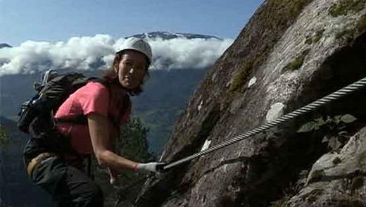 Горный аттракцион «Стальная тропа» в Норвегии