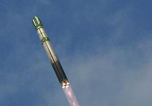 Пуск баллистической ракеты «Воевода» (фоторепортаж)