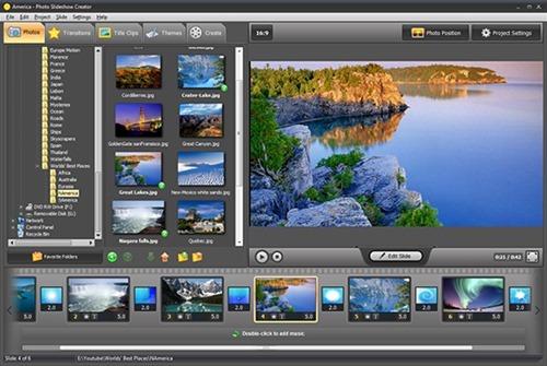 Как правильно установить программу для создания слайд шоу Photo Slideshow Creator