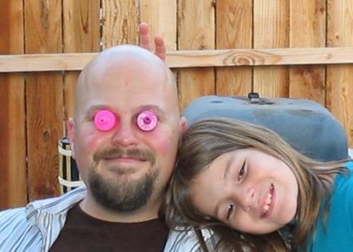 Папа и дочь