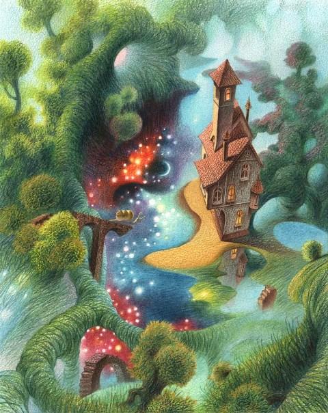 Дом и Лето(дом странствующего голубя)
