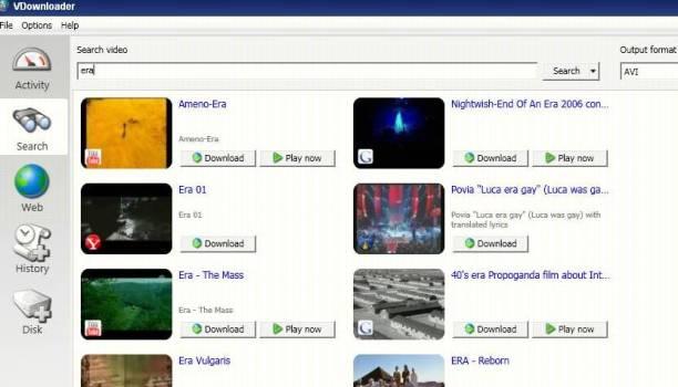 VDownloader   бесплатная программа для просмотра и сохранения видеороликов