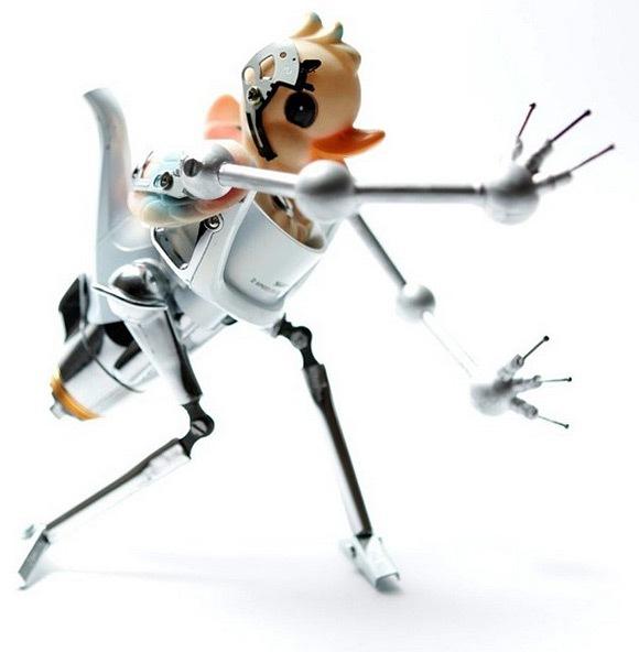 Скульптуры роботы Андреа Петрачи
