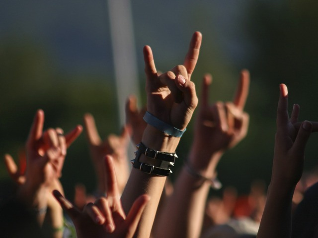 жест рокера